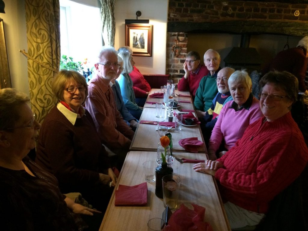 Club Lunch 26 Jan 2017