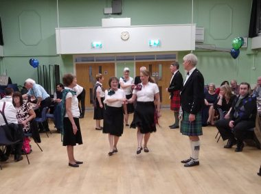 Burns Night Demonstration Dance January 2020